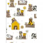 "Ткань для пэчворк (60x110см) 4507-516 ""Stof"" (Дания)"
