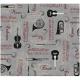 "Ткань для пэчворк (50x55см) 4507-541 ""Stof"" (Дания)"