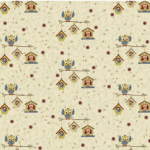 "Ткань для пэчворк (60x110см) 4507-633 ""Stof"" (Дания)"