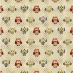 "Ткань для пэчворк (50x55см) 4507-636 ""Stof"" (Дания)"