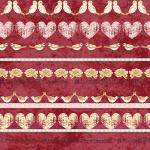 "Ткань для пэчворк (50x55см) 4507-883 ""Stof"" (Дания)"