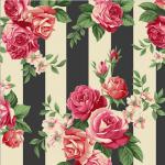 """Ткань для пэчворк (50x55см) 4507-927 из коллекции """"Rosies Summer"""" """"Stof"""" (Дания)"""