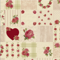 """Ткань для пэчворк (50x55см) 4507-946 из коллекции """"Rosies Summer"""" """"Stof"""" (Дания)"""
