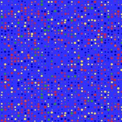 "Ткань для пэчворк (50x55см) 4512-320 из коллекции ""Colour Fun"" ""Stof"" (Дания)"