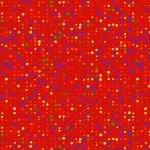 "Ткань для пэчворк (50x55см) 4512-321 из коллекции ""Colour Fun"" ""Stof"" (Дания)"