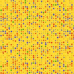 "Ткань для пэчворк (50x55см) 4512-322 из коллекции ""Colour Fun"" ""Stof"" (Дания)"