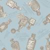 "Ткань для пэчворк (50x55см) 4523-115 ""Stof"" (Дания)"