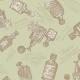 "Ткань для пэчворк (50x55см) 4523-116 ""Stof"" (Дания)"