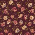 """Ткань для пэчворк (50x55см) 4523-507 из коллекции """"Trachten rosen"""" """"Stof"""" (Дания)"""