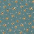 """Ткань для пэчворк (50x55см) 4523-524 из коллекции """"Trachten rosen"""" """"Stof"""" (Дания)"""