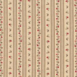 """Ткань для пэчворк (50x55см) 4523-529 из коллекции """"Trachten rosen"""" """"Stof"""" (Дания)"""
