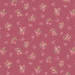 """Ткань для пэчворк (50x55см) 4523-548 из коллекции """"Trachten rosen"""" """"Stof"""" (Дания)"""