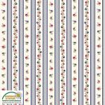 """Ткань для пэчворк (50x55см) 4523-551 из коллекции """"Trachten rosen"""" """"Stof"""" (Дания)"""