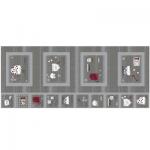 "Ткань для пэчворк (60x142см) 4555-005 ""Stof"" (Дания)"