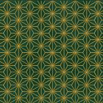 "Ткань для пэчворк (50x55см) 4592-803 из коллекции ""Glimmering"" ""Stof"" (Дания)"