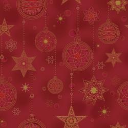 "Ткань для пэчворк (50x55см) 4594-400 из коллекции ""Amazing Stars"" ""Stof"" (Дания)"