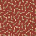 "Ткань для пэчворк (50x55см) 4702-528 ""Stof"" (Дания)"