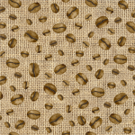 "Ткань для пэчворк (50x55см) 4703-276 из коллекции ""Coffee"" ""Stof"" (Дания)"