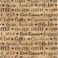 "Ткань для пэчворк (50x55см) 4703-286 из коллекции ""Coffee"" ""Stof"" (Дания)"