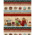 "Ткань для пэчворк (60x110см) 4703-288 из коллекции ""Coffee"" ""Stof"" (Дания)"