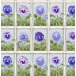 """Ткань для пэчворк (60x110см) 4703-494 из коллекции """"My garden"""" """"Stof"""" (Дания)"""
