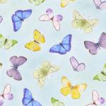 """Ткань для пэчворк (50x55см) 4703-495 из коллекции """"My garden"""" """"Stof"""" (Дания)"""