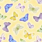 """Ткань для пэчворк (50x55см) 4703-496 из коллекции """"My garden"""" """"Stof"""" (Дания)"""