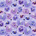 """Ткань для пэчворк (50x55см) 4703-503 из коллекции """"My garden"""" """"Stof"""" (Дания)"""