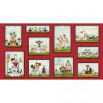 """Ткань для пэчворк (60x110см) 4703-638 из коллекции """"Catnip"""" """"Stof"""" (Дания)"""