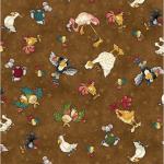 """Ткань для пэчворк (50x55см) 4703-645 из коллекции """"Catnip"""" """"Stof"""" (Дания)"""
