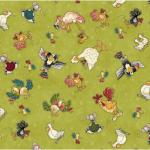 """Ткань для пэчворк (50x55см) 4703-646 из коллекции """"Catnip"""" """"Stof"""" (Дания)"""