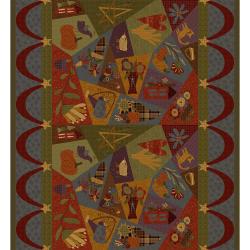 """Ткань для пэчворк (60x110см) 4703-650 из коллекции """"Autumn is here"""" """"Stof"""" (Дания)"""