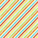 "Ткань для пэчворк (50x55см) 4703-673 из коллекции ""Knit Club"" ""Stof"" (Дания)"