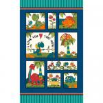 "Ткань для пэчворк (60x110см) 4705-062 из коллекции ""I love you this much"" ""Stof"" (Дания)"