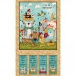 """Ткань для пэчворк (60x110см) 4705-080 из коллекции """"Catnip"""" """"Stof"""" (Дания)"""