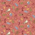 "Ткань для пэчворк (50x55см) 4790-304 ""Stof"" (Дания)"