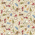 "Ткань для пэчворк (50x55см) 4790-305 ""Stof"" (Дания)"