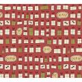 "Ткань для пэчворк (50x55см) 4790-309 ""Stof"" (Дания)"