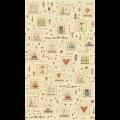 "Ткань для пэчворк (60x110см) 4790-442 ""Stof"" (Дания)"