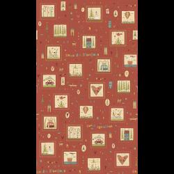 "Ткань для пэчворк (60x110см) 4790-444 ""Stof"" (Дания)"