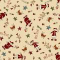 "Ткань для пэчворк (50x55см) 4790-481 ""Stof"" (Дания)"