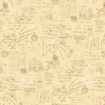"Ткань для пэчворк (50x55см) 4790-489 ""Stof"" (Дания)"