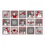 "Ткань для пэчворк (60x110см) 4795-008 ""Stof"" (Дания)"