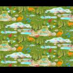"Ткань для пэчворк (60x110см) 4801-599 ""Stof"" (Дания)"