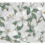 """Ткань для пэчворк (50x55см) 4801-250 из коллекции """"Magnolia"""" """"Stof"""" (Дания)"""