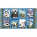 """Ткань для пэчворк (60x110см) 4801-379 из коллекции """"Lighthouse"""" """"Stof"""" (Дания)"""
