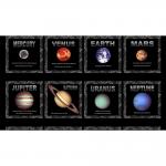 """Ткань для пэчворк (60x110см) 4801-397 из коллекции """"Planets"""" """"Stof"""" (Дания)"""