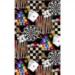 """Ткань для пэчворк (60x110см) 4801-400 из коллекции """"Games"""" """"Stof"""" (Дания)"""