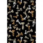 """Ткань для пэчворк (50x55см) 4801-401 из коллекции """"Games"""" """"Stof"""" (Дания)"""