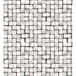 """Ткань для пэчворк (50x55см) 4801-402 из коллекции """"Games"""" """"Stof"""" (Дания)"""